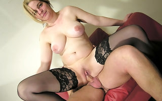 Horny mature slut video