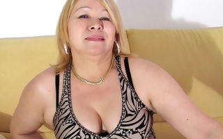 hot mature lady video