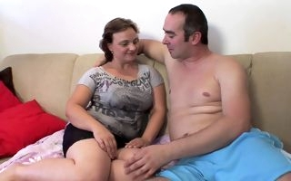Mature tries cock on cam during homemade XXX play