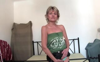 Mature with small saggy tits naughty home solo