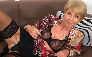 Horny granny video