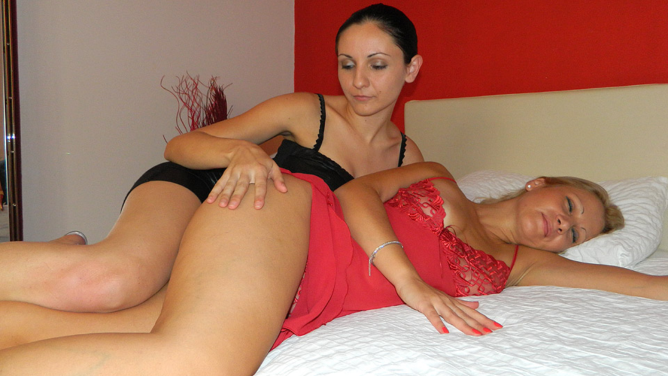 Was and lesbian horny milf can not take
