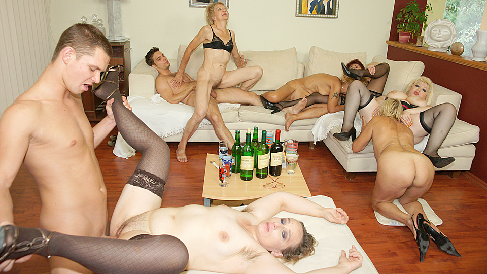 British Mature Sex Party